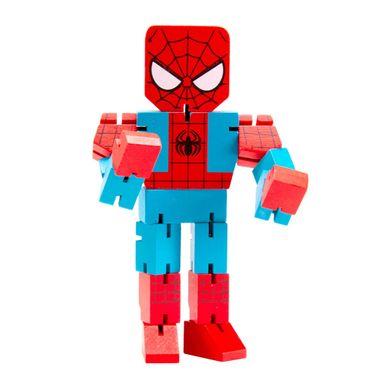 Juguete de madera Spider Man Marvel, Mediano, Multicolor