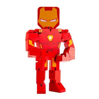 Juguete de madera Iron Man Marvel, Mediano, Multicolor