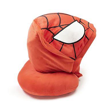 Almohada de viaje con capucha Spider Man Marvel, Mediana, Multicolor