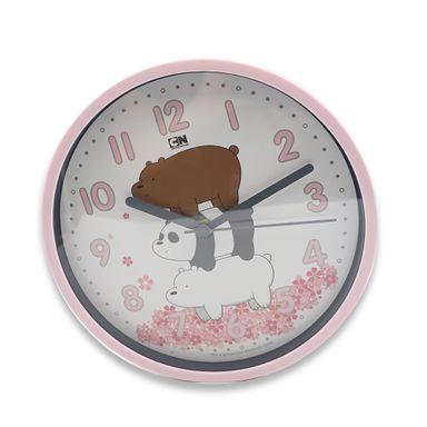 Reloj De Pared, Osos Escandalosos, Mediano, Rosado