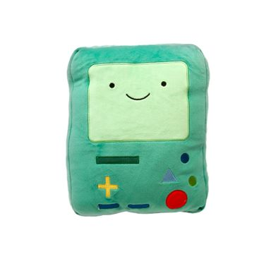 Almohada de peluche BMO Adventure Time, Mediano, Multicolor