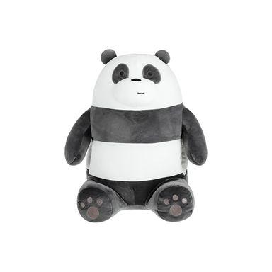 Cojin En Forma De Panda, Osos Escandalosos, Mediano, Negro/Blanco