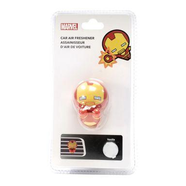 Ambientador para carro 3D Iron Man Marvel, Pequeño, Multicolor