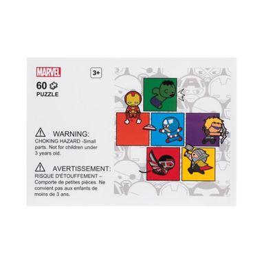 Rompecabezas 4 diseños 60 piezas Marvel, Grande, Cuadros