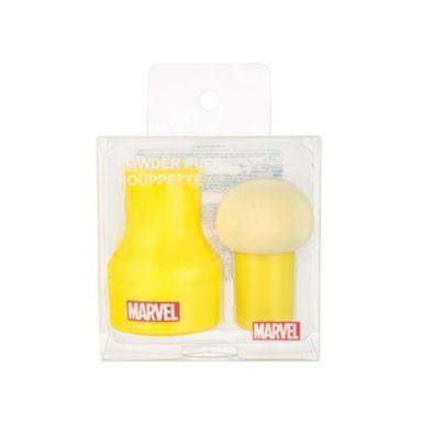 Esponja Para Maquillaje, Iron Man - Capitán América Marvel, Pequeña, Amarillo