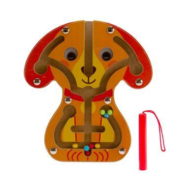 Juguete de madera armables Laberinto magnético, Mediano, Multicolor