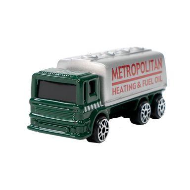Carro de juguete Camión cisterna 1:64, Mediano, Gris