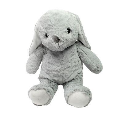 Peluche de Conejo sentado, Pequeño, Gris