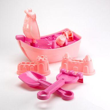 Set de juguetes de arena, Mediano, Rosa
