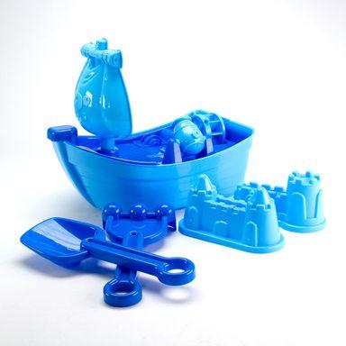 Set de juguetes de arena, Mediano, Azul