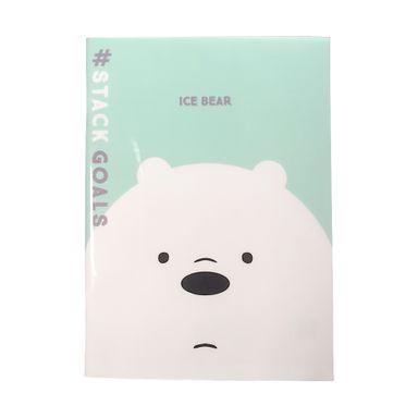 Cuaderno Notas, Pasta Dura 48 Hojas, Osos Escandalosos, Polar