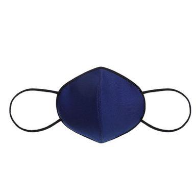 Tapabocas Simple, De Algodón, Mediano, Azul