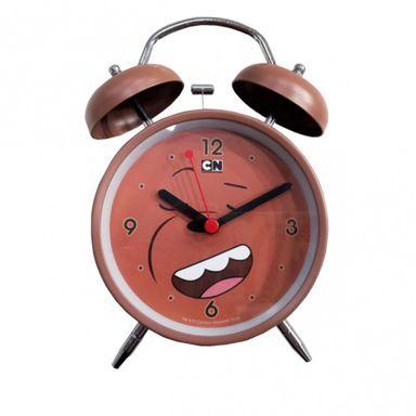 Reloj Despertador, Osos Escandalosos, Mediano, Pardo