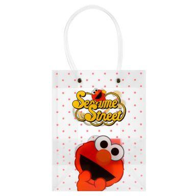 Bolsa De Regalo, Sesame Street, Pequeña, Rojo
