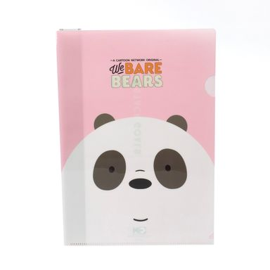 Carpeta A4 3 Pzas, Osos Escandalosos, Mediana, Panda
