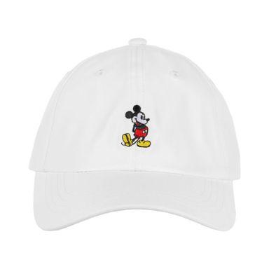 Gorra De Beisbol Bordado, De Mickey Mouse, Disney, Mediana, Blanca
