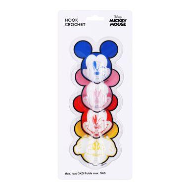 Paquete De Ganchos Adhesivos, 4 Pzas Mickey Mouse, Disney, Pequeño