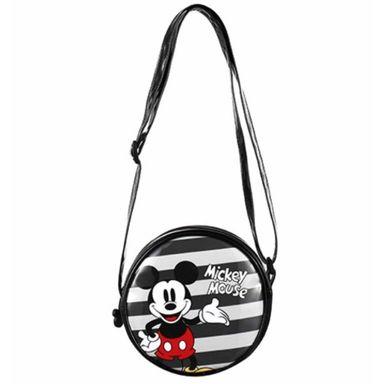 Bolsa Cruzado, Round Mickey Mouse, Disney, Pequeño