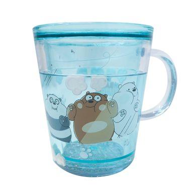 Vaso Plastico260 ml We Bare Bears, Pequeño, Verde