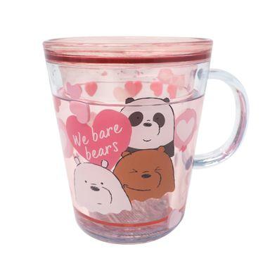 Vaso Plastico260 ml We Bare Bears, Pequeño, Rosa
