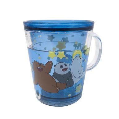 Vaso Plastico260 ml We Bare Bears, Pequeño, Azul