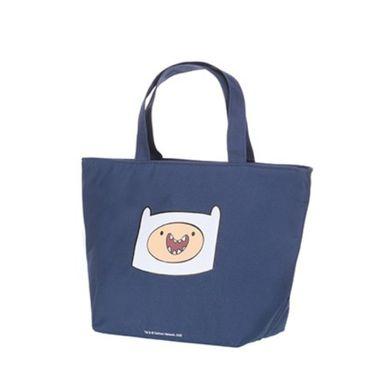 Lonchera En Forma Trapezoidal , Adventure Time, Mediana, Azul