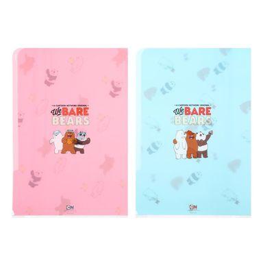 Paquete De Folder, A4 2 Pzas, Osos Escandalosos, Rosa-Azul