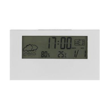 Reloj despertador digital, Pequeño, Blanco