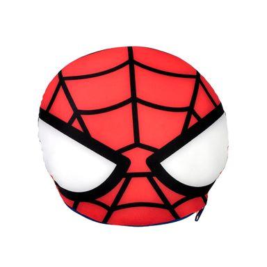Almohada de viaje y Cojín 2 en 1 Spider Man Marvel, Mediana, Multicolor