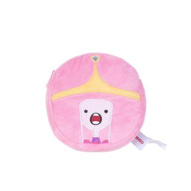 Monedero de peluche Princess Adventure Time, Mediano, Rosado
