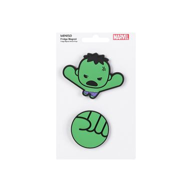 Imán para nevera Hulk Marvel, Pequeño, Multicolor