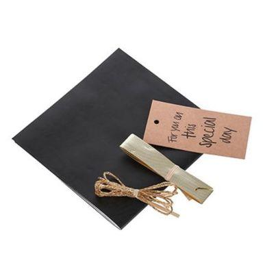 Material Decorativo, Para Caja De Regalo, Negro