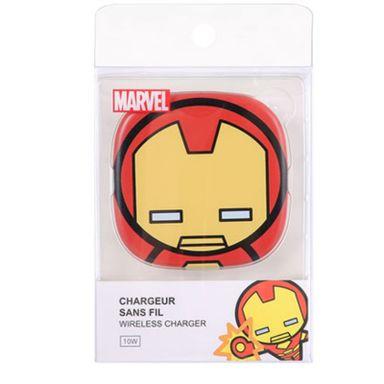 Cargador Inalambrico, Mc-08 Iron Man, Marvel