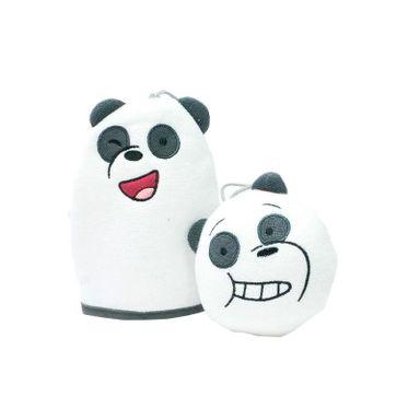 Set De Esponja, Para Baño Panda, Osos Escandalosos