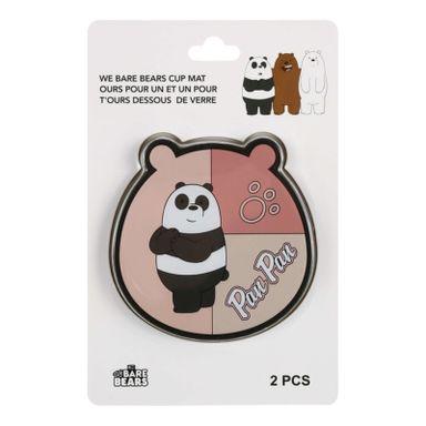 Portavaso, 2 Pzas Osos Escandalosos, Pequeño, Panda