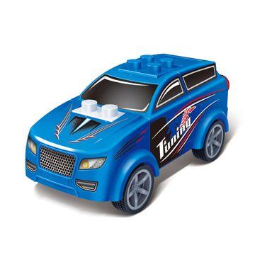 Bloques de armar Carros, Mediano, Azul