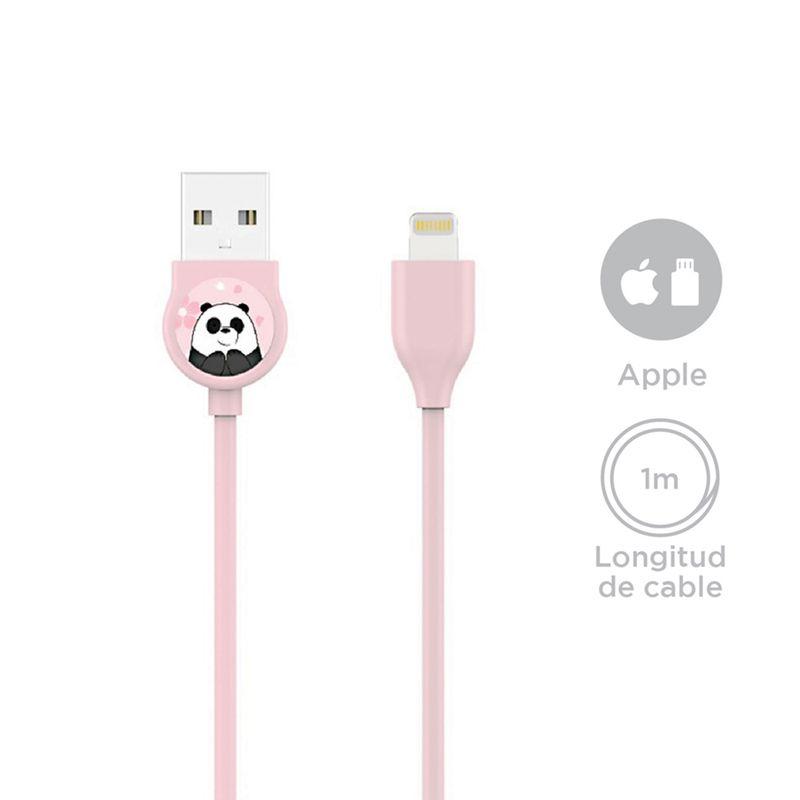 Cable-De-Carga-Rapida-Apple-Panda-Osos-Escandalosos-3-6708