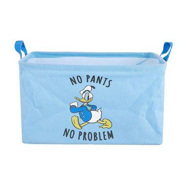 Organizador De Tela, Con Estampado Donald Duck, Disney, Mediano, Azul