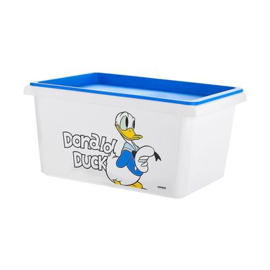 Organizador De Plastico, Donald Duck, Pequeño, Blanco