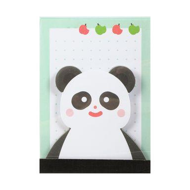 Post-It En Forma De Animales y Hoja Normal, Panda