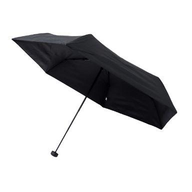 Paraguas Ultraligero, De 3 Pliegues, Negro