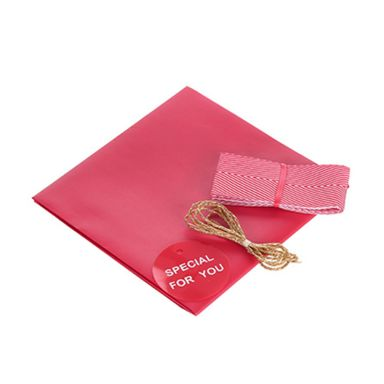 Material Decorativo Para Caja De Regalo Rojo