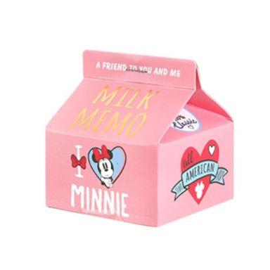 Post-It En Forma De Leche, Mickey Mouse 200 Hojas, Disney , Rosa