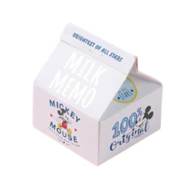 Post-It En Forma De Leche, Mickey Mouse 200 Hojas, Disney , Blanco
