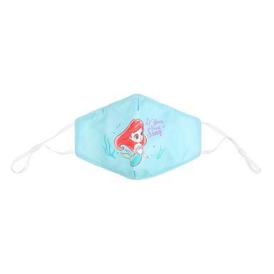 Tapabocas De Tela, Con Estampado De Dibujos Animados, Disney, Sirenita Verde