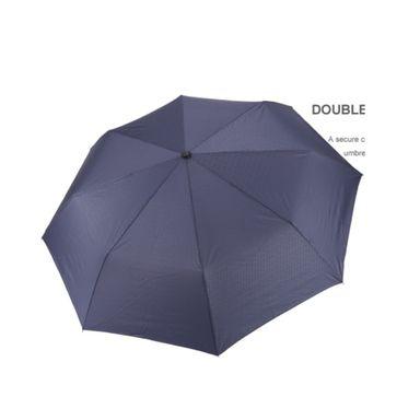 Paraguas Plegable Liso, Azul