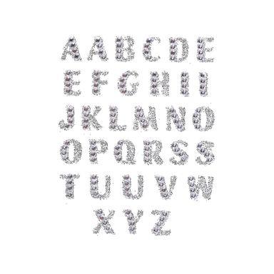 Planilla De Sticker Alfabeto, Symphony Series