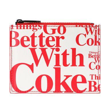 Monedero,  Coca Cola, Tarjetero, Blanco