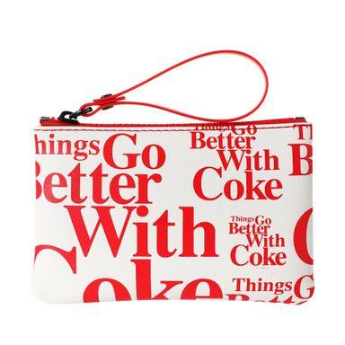 Monedero Coca Cola, Blanco