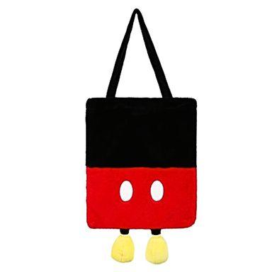 Bolso Bloques De Color, Mickey Mouse Tipo Felpa, Disney, Mediano